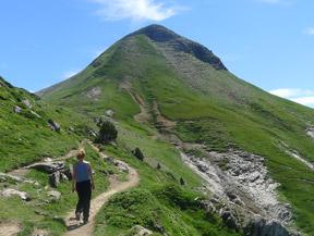 Pic Arlas (2.044m) des del coll de la Piedra de San Mart�n