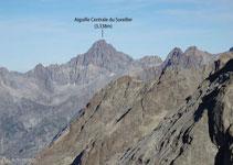 Aiguille Centrale du Soreiller (3.338m).