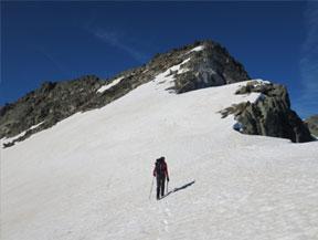 Pic d�Amitges (2.848m) i Tuc de Saboredo (2.829m)
