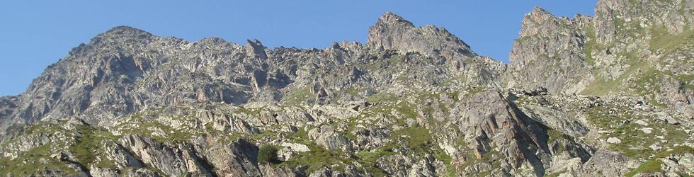 Pic de Cataperdís (2.806m) i pic d�Arcalís (2.776m)