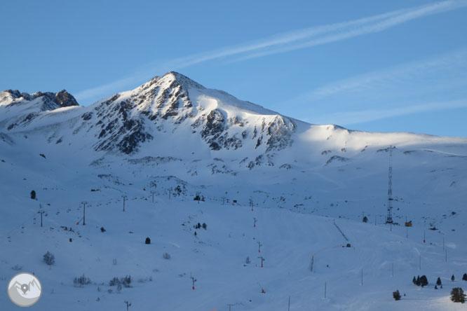 Pic de la Mina (2.683m) des del coll de Pimorent 1