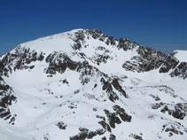 El pic de l´Alba (2.764m), un dels més alts de la zona.