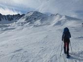 Pic dels Pedrons (2.715m) des de la frontera Andorra-França