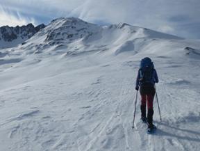 Pic dels Pedrons (2.715m) des de la frontera Andorra-Fran�a