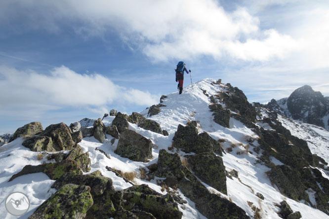 Pic dels Pedrons (2.715m) des de la frontera Andorra-França 1