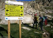 Agafem el camí que ens porta al Ballibierna, en direcció O, passant molt a prop de l´estany Gelat.