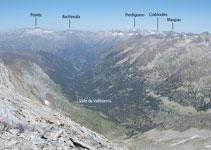 Diferents excursions neixen del fons de la vall de Ballibierna.