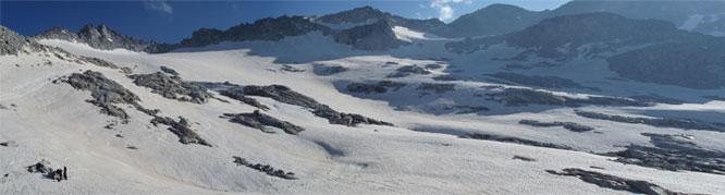 Maladeta Oriental (3.308m) i pic Abadías (3.271m) per la Renclusa 1