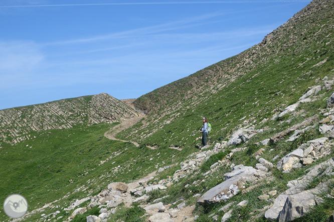 Pic Ori (2.017m) des del port de Larrau 1