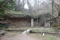 El paratge de la font de la Mina.