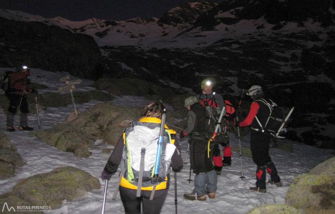 Posets (3.375m) pel refugi Ángel Orús 2