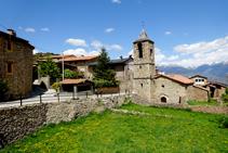 Església de Sant Climent d´Estana.