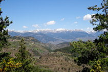Muntanyes de la Cerdanya.