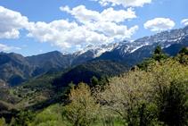 Sector oriental del vessant nord de la serra del Cadí.