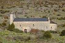 Església romànica de Sant Mamet.