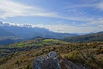 Visites panoràmiques a la vall del Segre i la cara nord del Cadí.