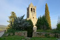Església romànica de Sant Llorenç d´Adri.