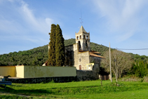 Església de Sant Vicenç de Canet d´Adri.