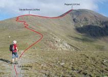 Coll de Fontalba (2.450m).
