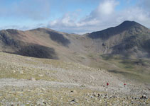 Carena que uneix el Puigmal amb el Petit Segre (2.813m) i el pic de Segre (2.848m).