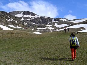 Puigpedr�s (2.915m) per Engorgs des del refugi de Malniu