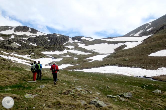 Puigpedrós (2.915m) per Engorgs des del refugi de Malniu 1