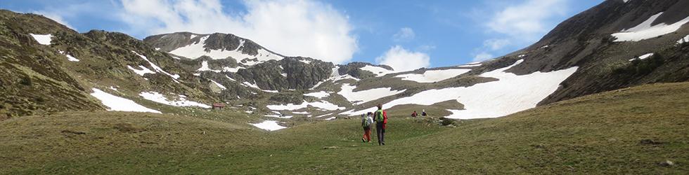 Puigpedrós (2.915m) per Engorgs des del refugi de Malniu