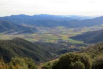 Vistes de la Vall d´en Bas.