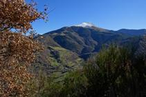 Vistes del Taga des del camí de Sant Antoni.