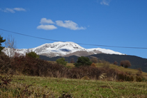 El Puigmal des dels Plaus del Baell.
