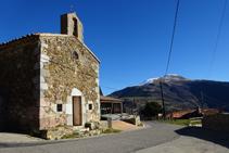 Ermita de Sant Bartomeu al Baell.