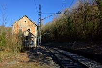 Antiga estació d´Aigües de Ribes.