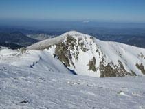 El Pic du Bernard Sauvage des del cim