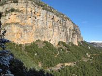 Roca de Canalda, ara a la nostra esquerra