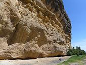 Roca del Corb i Roc de Cogul des de Peramola