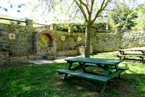 Font prop de la placeta de Lluís Companys.