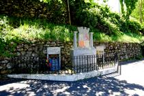 Monument als combatents republicans a Les Illes.