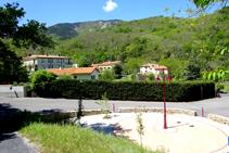 La placeta de Lluís Companys a Les Illes.