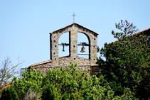Campanar de l´església de La Vajol.