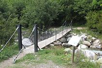 Pont de la Palanca de la borda de Pei.
