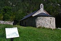 Ermita romànica de Sant Nicolau.