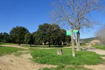 Camí a l´ermita de Sant Quirze.