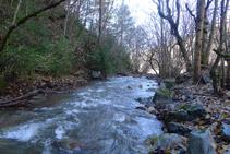 Riu del Cantó des de la font de Canemassos.