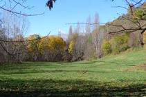 Boniques vistes de la vall del riu del Cantó.