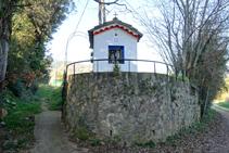 Capella de Sant Benet de Palerm.
