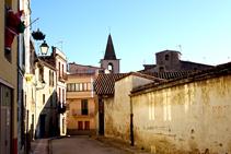 Campanar de l´església de Santa Maria de Sales.