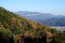 Vistes de la muntanya de Rocacorba.