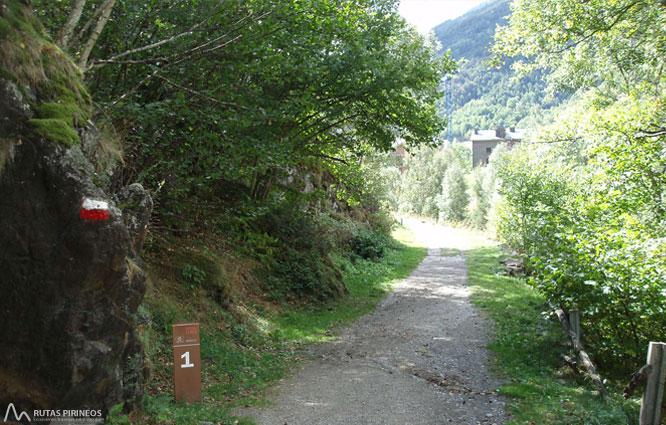 Ruta del Ferro (Llorts-La Cortinada) 1
