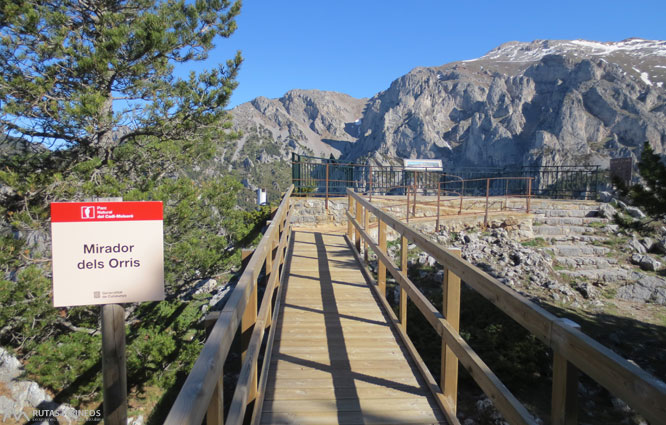 Ruta del Trencapinyes i mirador dels Orris 1