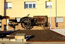 Monument dedicat a la Fira dels Tractoristes.